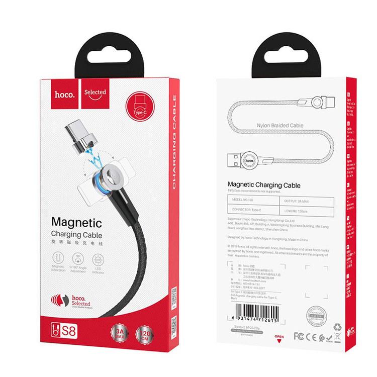 Magnetisk kabel USB till Type C