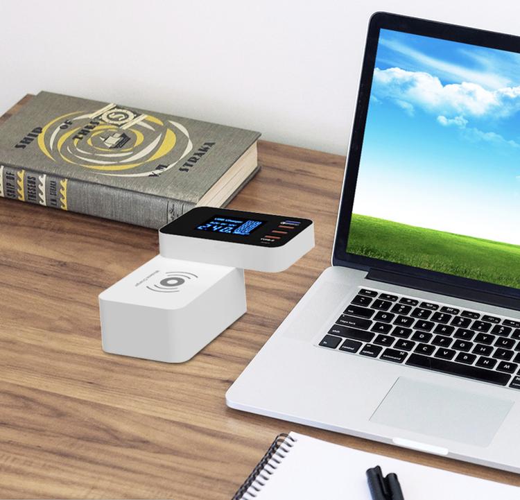 USB-laddningsstation 5-Port USB och Trådlös