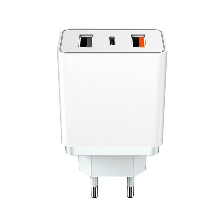 Mobilladdare 30W QC 3.0 USB- 3-port med PD