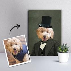 Personligt Djurporträtt - Gentleman