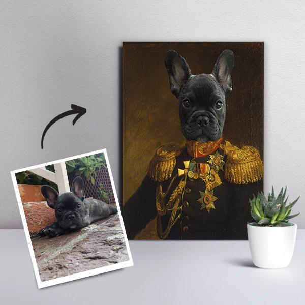 Personligt Djurporträtt - Prins Oskar