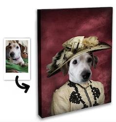 Personligt Djurporträtt - Eleganta