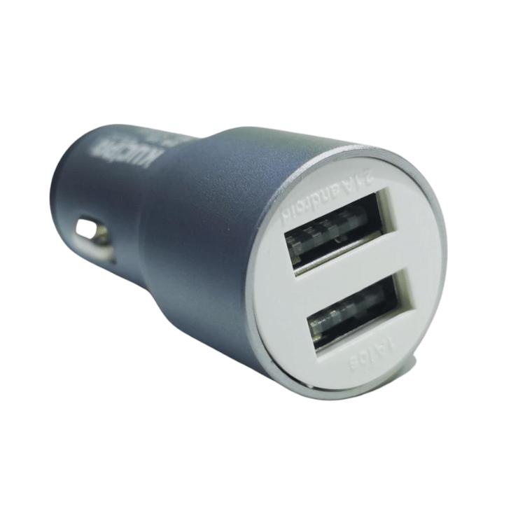 Billaddare Quick Charge 3.0 Dual Port med Kabel