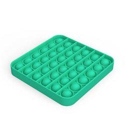 Pop It Fidget Leksak - Grön Fyrkant