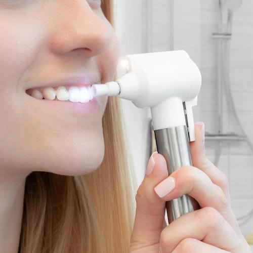 Tandpolering - Tandblekning 2-i-1