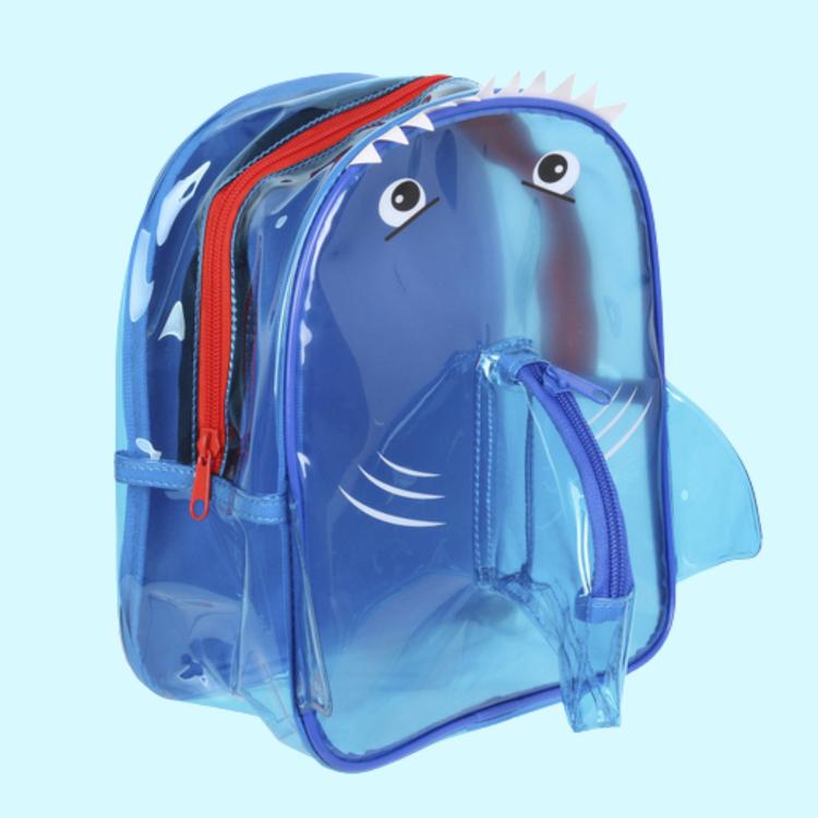 Transparent Ryggsäck - Blå