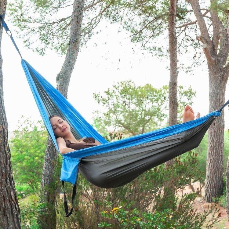 Swing & Rest Dubbel Hängmatta