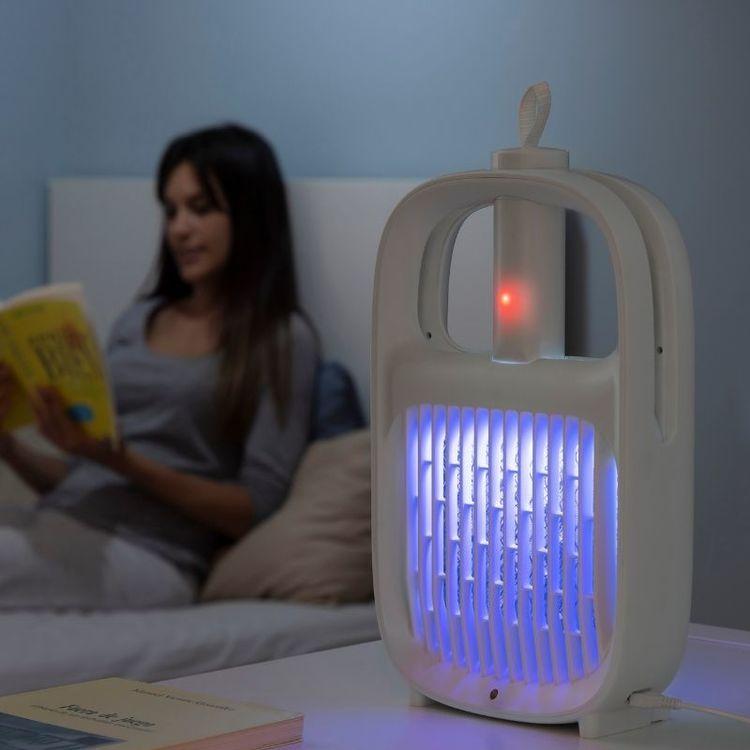 Uppladdningsbar Anti-Mygglampa och Insektsracket