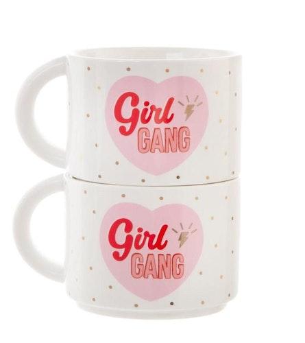 Girl Power Muggar 2-pack