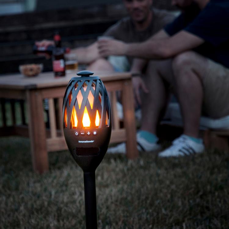 LED Fackla med Högtalare