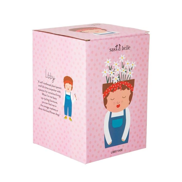 Libby Vas från Sass & Belle