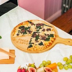 Pizzabräda i Bambu