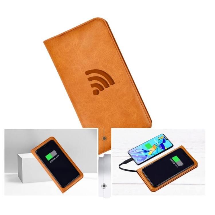 Smart Plånbok med powerbank