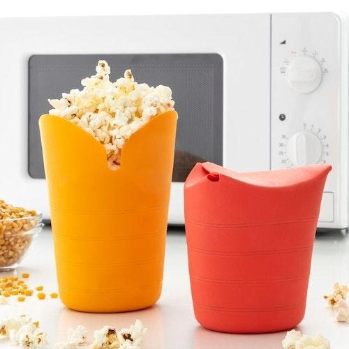 Popcornskål till mikron 2-pack