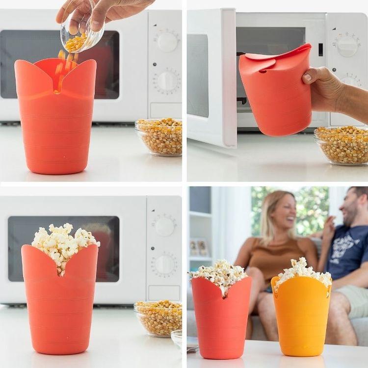 Popcornskål till mikron