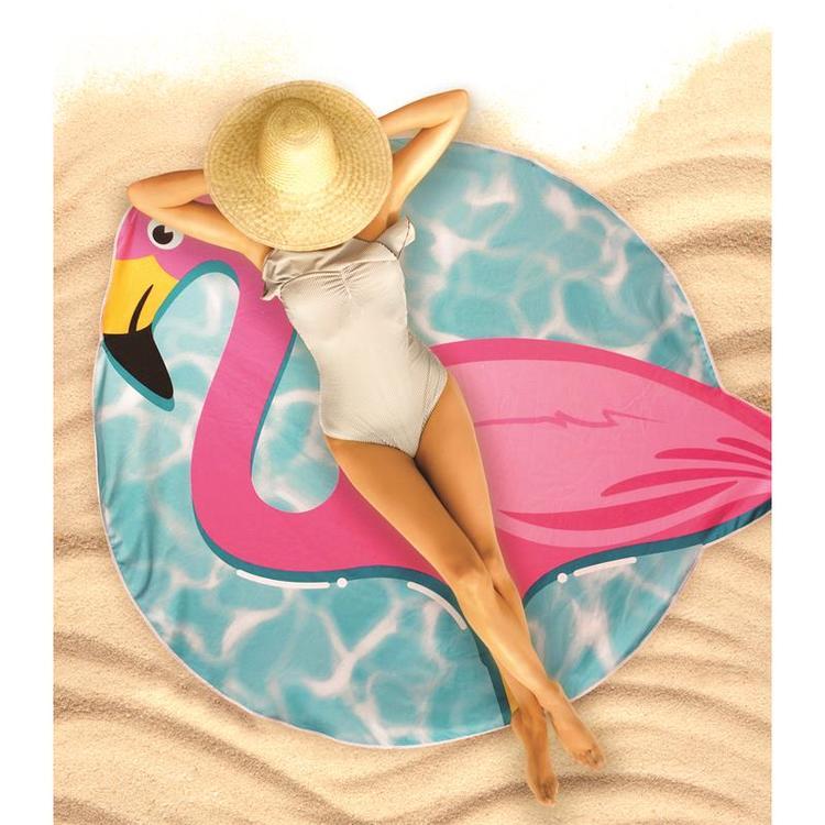 Strandhandduk Flamingo