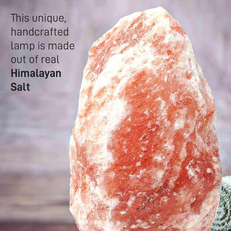 Saltlampa från Himalaya