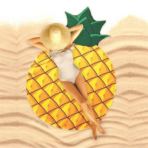 Strandhandduk Ananas