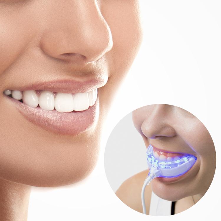 Tandblekningssats med LED-ljus
