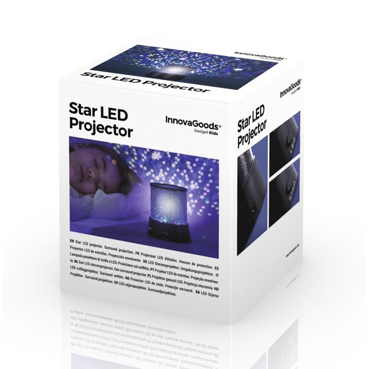 LED Stjärnprojektor från InnovaGoods