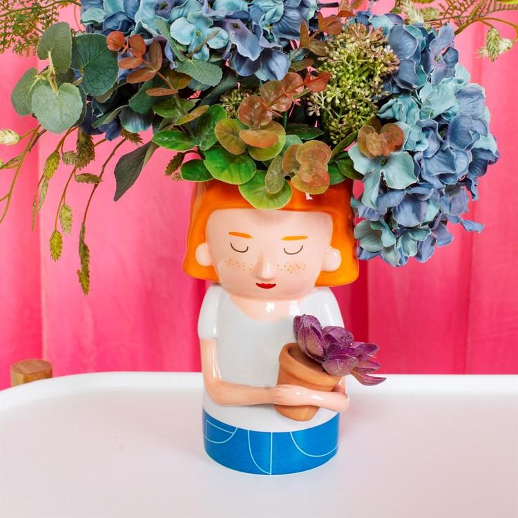 Sass & Belle - Vas med mini Planter