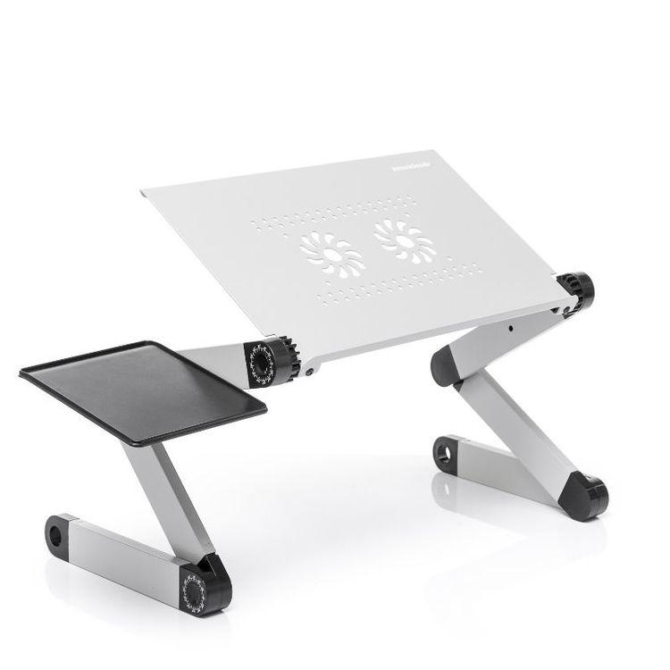Vikbart Laptopbord med flera positioner