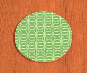 Glasundelägg Oval, grön