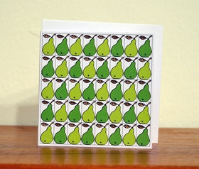 Dubbeltkort med kuvert, Äppel päppel piron paron...