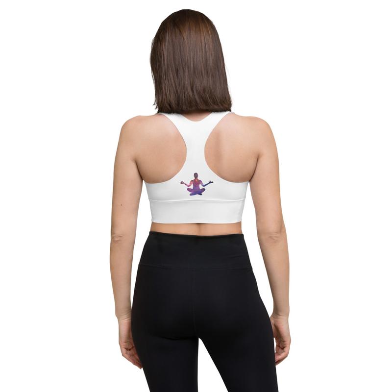 Chakra Longline sports bra