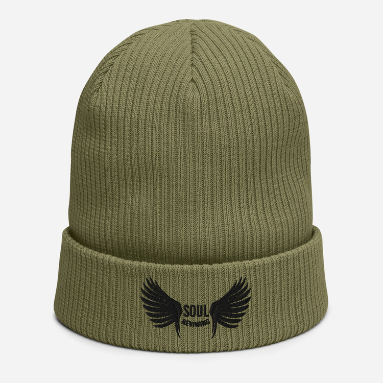 Soul Reviwing Organic ribbed beanie One Size