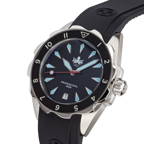 Phoibos  PX021C Sea Nymf 300M Lady DiverWatch  Black