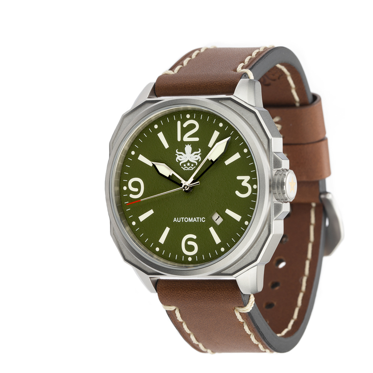 Phoibos Sentinell PY019A  Automatic Watch Green