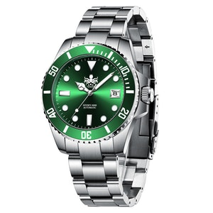 Phoibos PY007A Automatic 300M Diver Watch Green