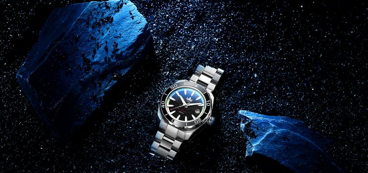 Phoibos Proteus PY024E  Automatic Diver 300M Meteorite Black