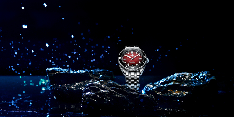 PHOIBOS EAGLE RAY 300M Automatic Diver Watch PY025D Red