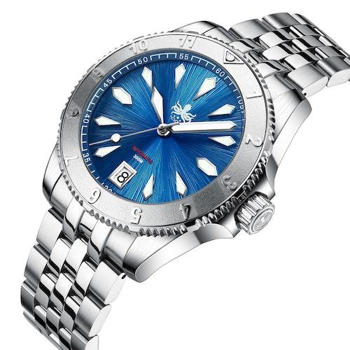 PHOIBOS  Voyager 300M Automatic Diver Watch PY026B AZUR