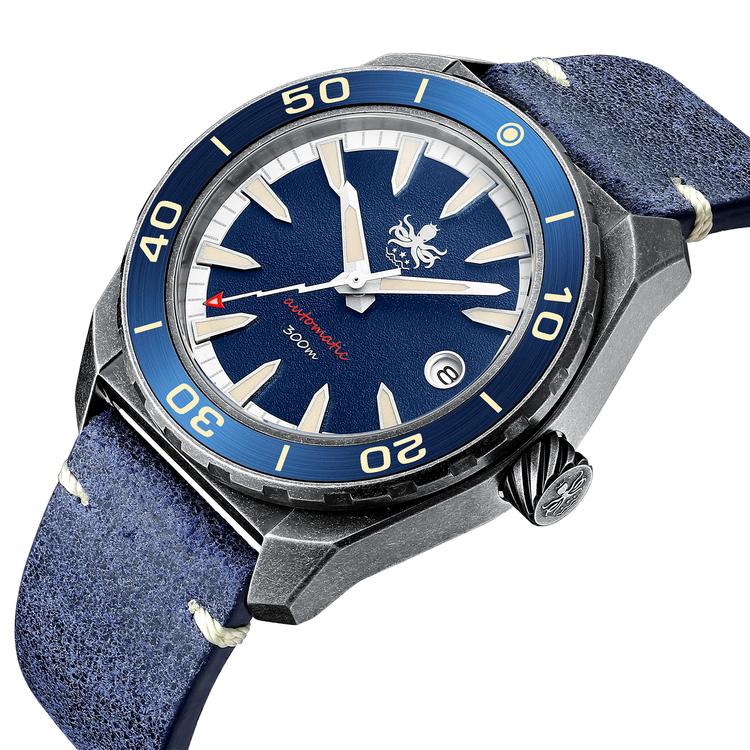 New Phoibos 300M Automatic Diver PY028B Blue