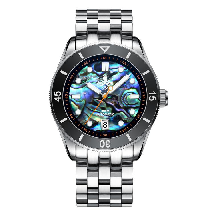 Phoibos Wavemaster  Automatic 300M Dive Watch PY010 E Abalone shell
