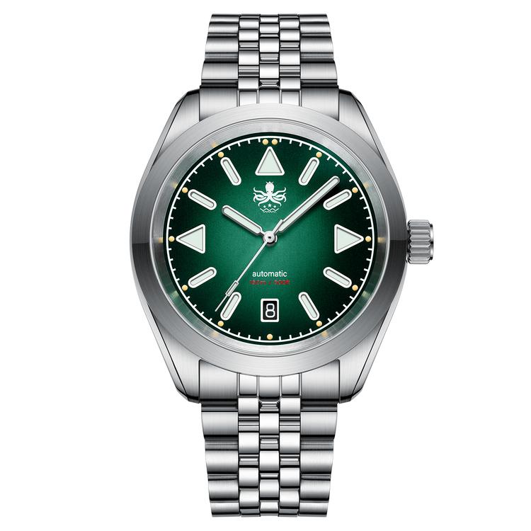 Phoibos Nebula 150 M Automatic Watch PY030B Green