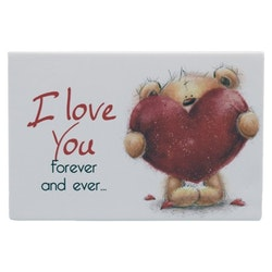 "Magnet ""I Love You Forever And Ever..."""