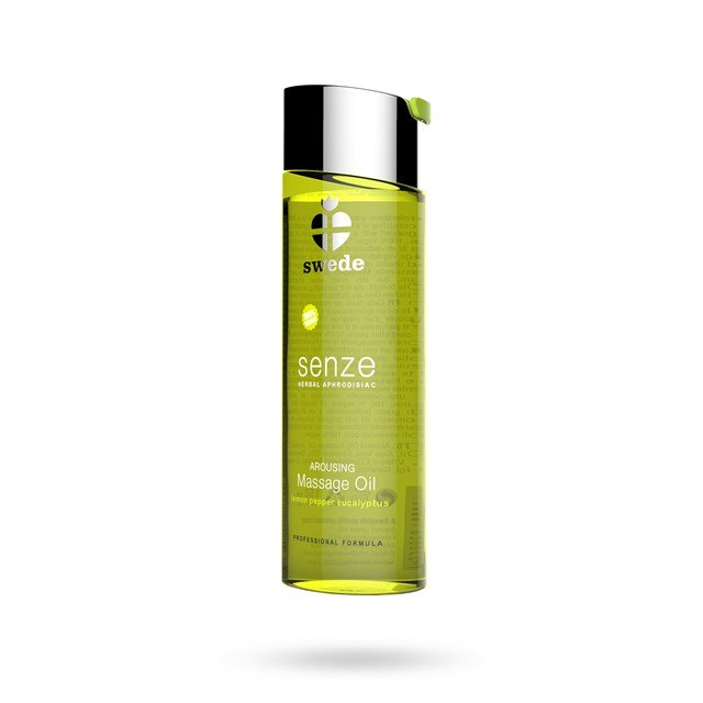 Senze Arousing Massage Oil - Lemon Pepper Eucalyptus