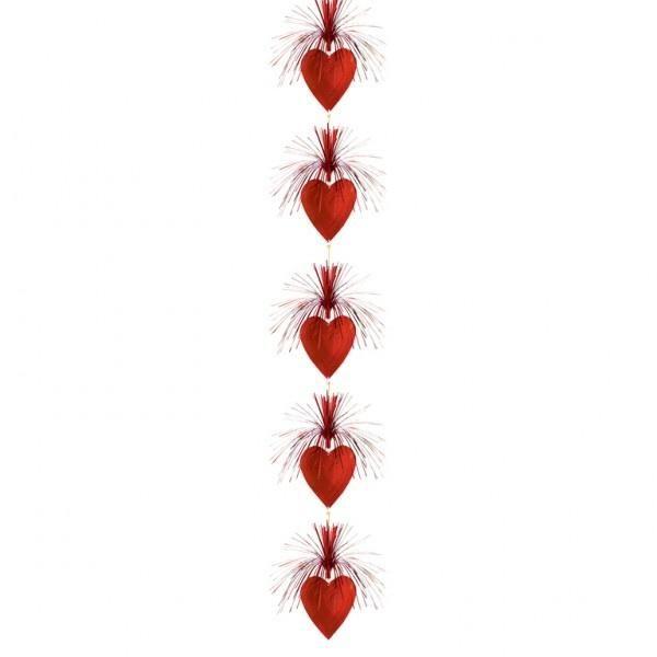 Hearts Cascade Column