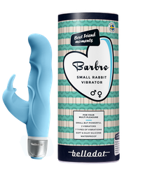 Belladot Barbro Small Rabbit Vibrator Blå