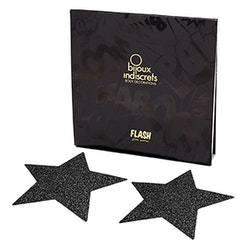 Nipple Sticker Star Black