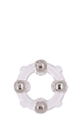 Menzstuff Stud Ring Clear