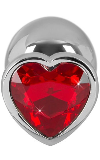 Heart Diamond Anal Plug Large