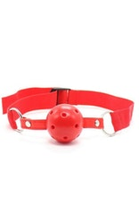 Breathable Ball Gag Röd