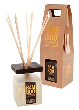 Bamboo Doftpinnar Oud & Geranium