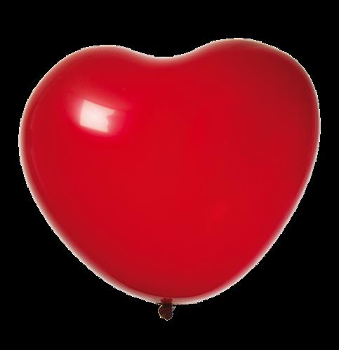 Ballonger Hjärta Röd 8-Pack