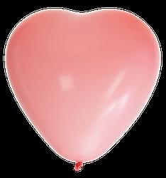 Ballonger Hjärta Rosa 8-Pack